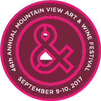 46th Annual Mountain View Art and Wine Festival, Spetember 9-10, 2017