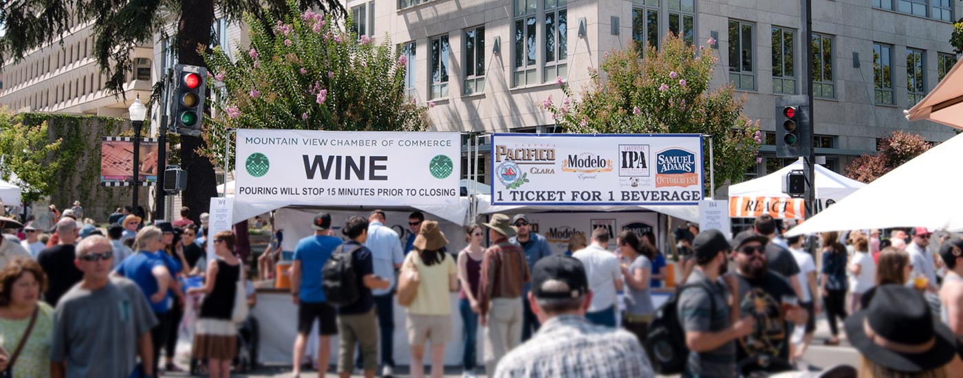 craft brews, fine wine and more at Mountain View Art & Wine Festival