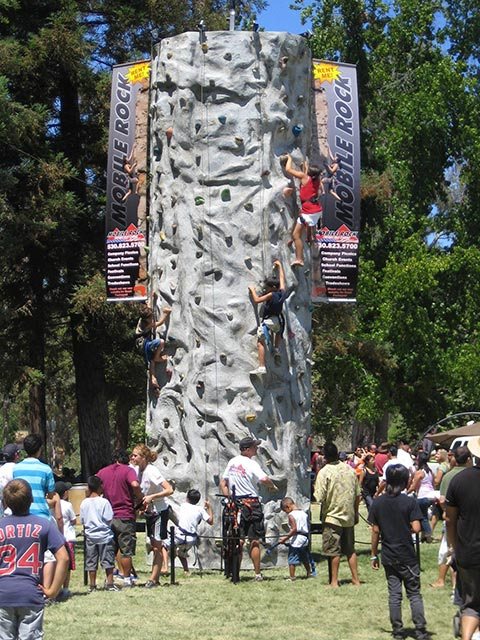 kids park mobile rock climbing wall lg